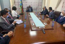 """صورة """"القصير """"يلتقي بالنائب الأول لرئيس جنوب السودان لبحث الأنشطة الزراعية"""