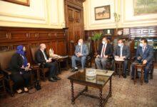 صورة تفاصيل لقاء وزير الزراعة مع سفير استراليا بالقاهرة