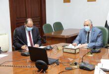 صورة القصير وعبدالعاطي يترأسا اجتماع اللجنة التنسيقية العليا بين وزارتي الزراعة