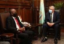 صورة وزير الزراعة :إطلاق المشروع الاستراتيجي للحوم من أجل تحقيق الأمن الغذائى بين مصر والسودان