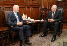 صورة وزير الزراعة يبحث مع سفير اسبانيا حصة مصر من مياه النيل وتعنت اثيوبيا