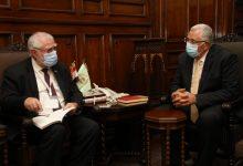 صورة تفاصيل لقاء وزيرا الزراعة في مصر ونامبييا