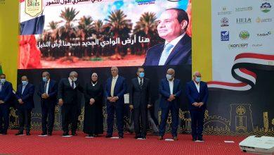 صورة 4 وزراء يشهدونالحفل الختامي للملتقى التسويقي الأول للتمور بمحافظة الوادي الجديد